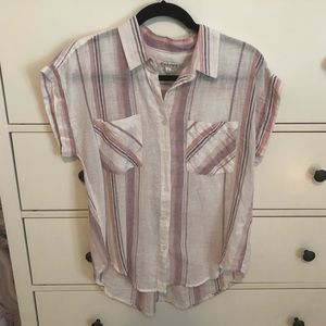 NWT Francesca's Button-Up